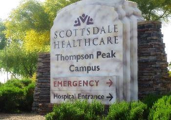 Scottsdale Healthcare Sign